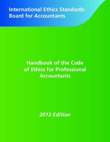 overview of accounting ethics The code of ethics applies to the conduct and reporting requirements of the chief executive officer, chairman, chief financial officer and principal accounting officer of the firm (finance officers) and to all other professionals of the firm worldwide serving in a finance, accounting, lob treasury, tax or investor relations role (finance.